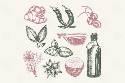 Aromatisierte Produkte - Vintage-Zusammensetzung