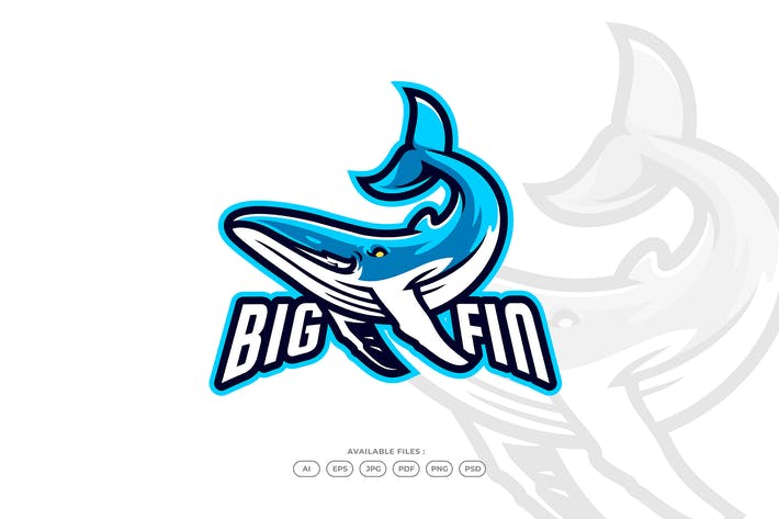 Thumbnail for Whale Sport and Esport Gaming Logo