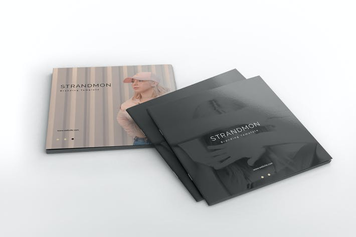 Thumbnail for Strandmon Branding Square Brochure Template