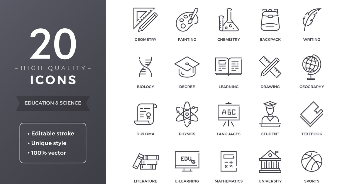Education Icons by filborg