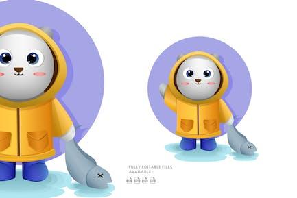 Cute Polar Illustration