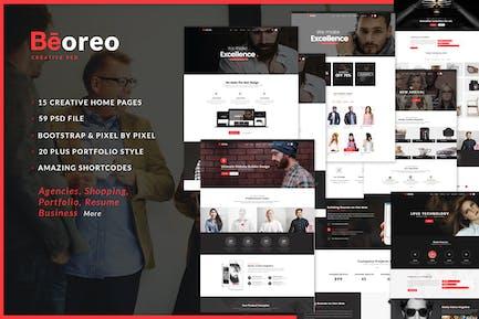 Beoreo   Multi-Purpose PSD Template