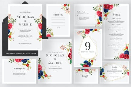 Romantic Floral Wedding Suite