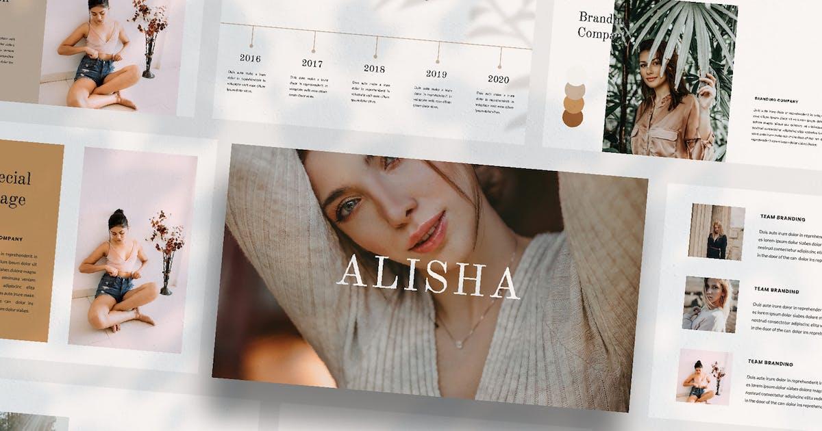 Download ALISHA - Keynote by Cotbada-studio