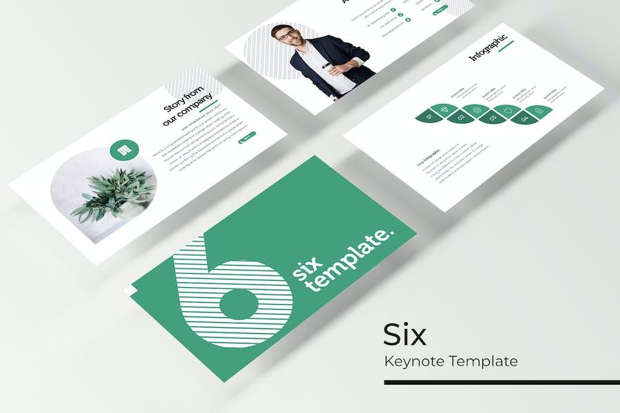 Six - Keynote Template