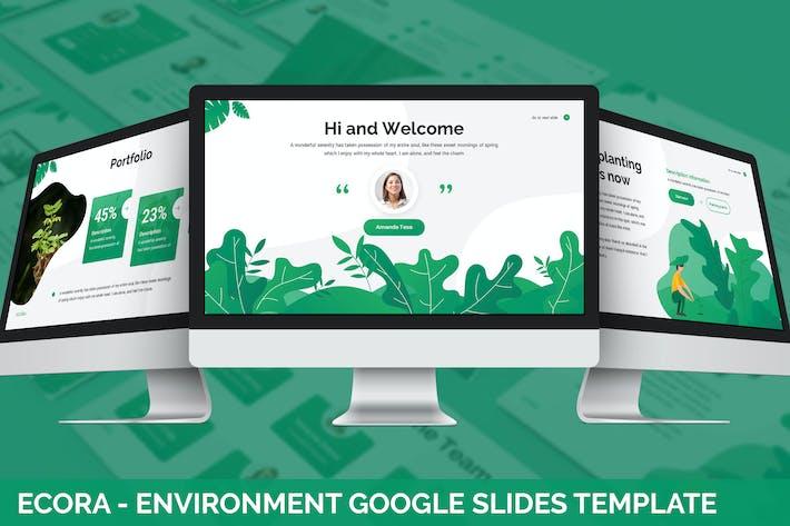Thumbnail for Ecora - Environment Google Slides Template