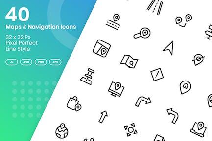 40 Karten & Navigation - Linie
