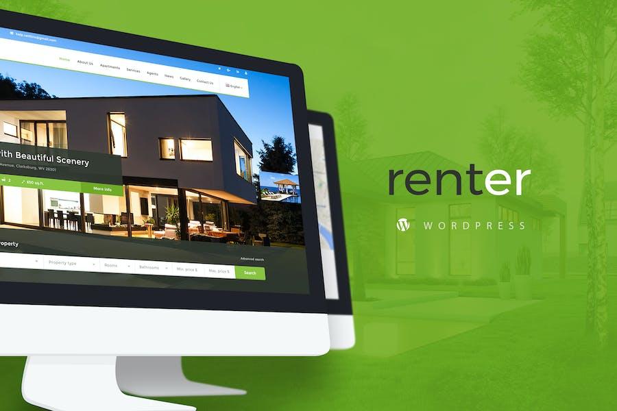 Renter — Property Rent/Sale Real Estate Wordpress