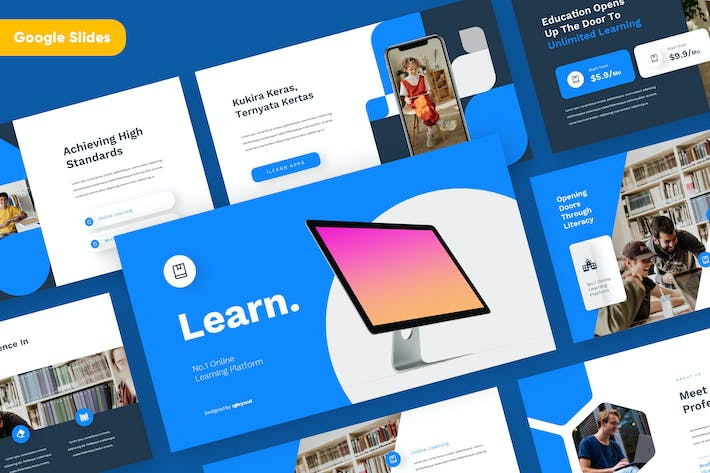 Thumbnail for LEARN - Education Google Slides Template