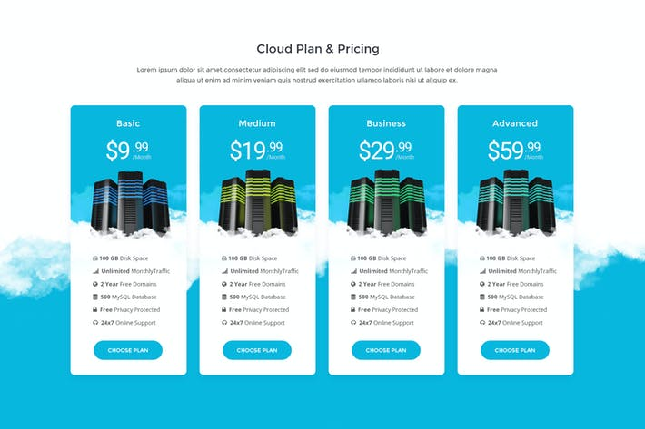 Thumbnail for Price Table 33 - Cloud Hosting