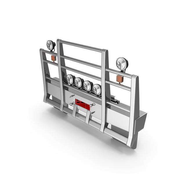 Защита решетки полугрузовика