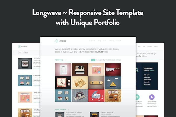 Longwave - Modèle HTML Responsive