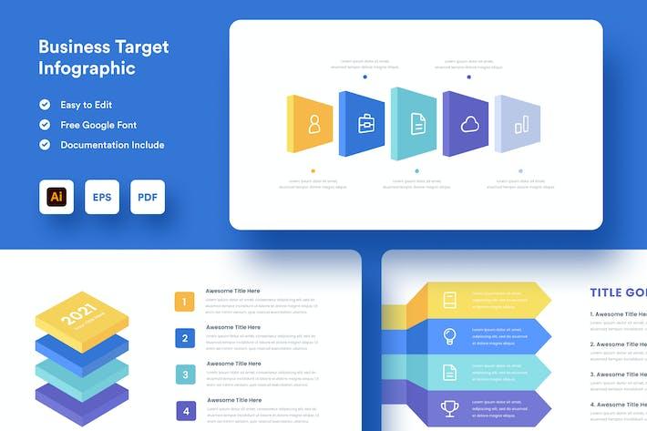 Business Target Infographic - Muzitemp