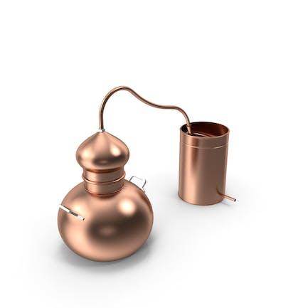 Kupfer-Destillierkol