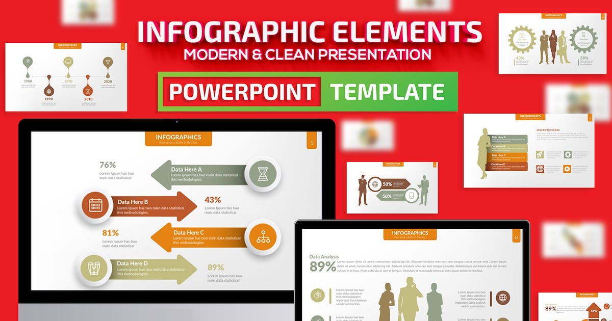 Download Infographic Elements Powerpoint by mamanamsai