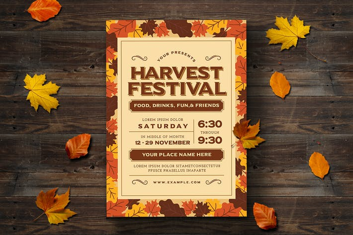 Thumbnail for Harvest Festival Flyer