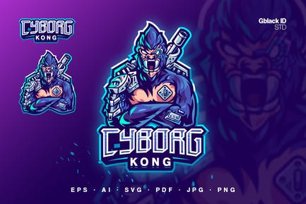 Cyborg Kong