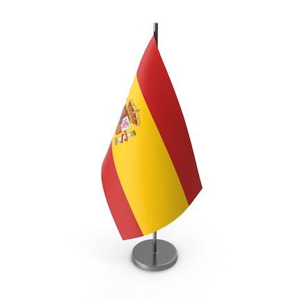 Tischflagge Spanien