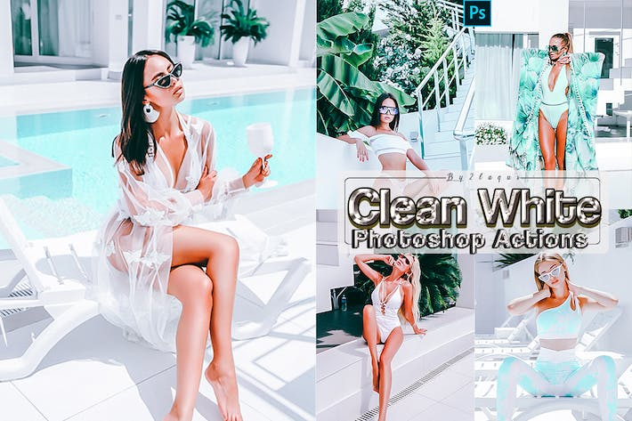 Thumbnail for Clean White Lifestyles Photoshop Actions