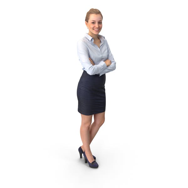 Business Woman Posed