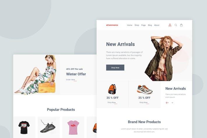 Thumbnail for Minimal eCommerce - Email Newsletter