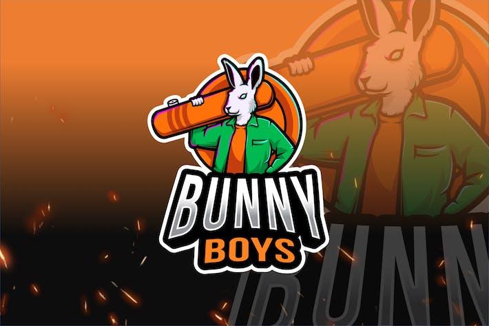 Thumbnail for Bunny Boys Esport Logo Template