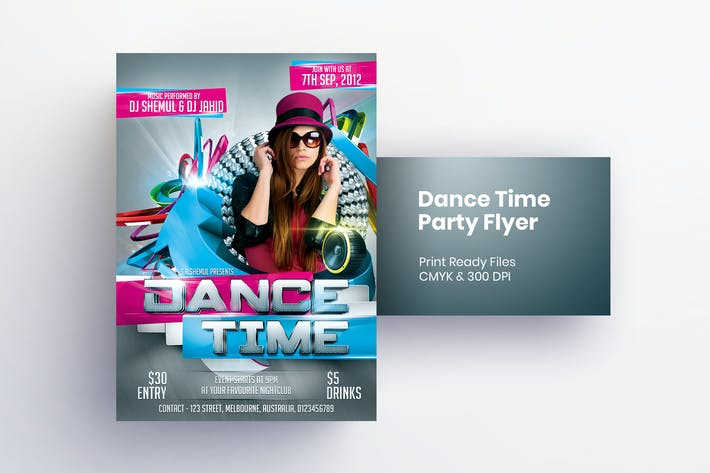 Thumbnail for Dance Time Flyer