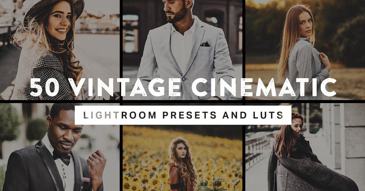 Download 50 Vintage Cinematic Lightroom Presets and LUTs by sparklestock