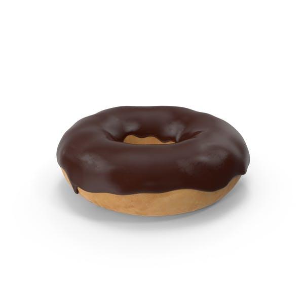 Шоколадный пончик