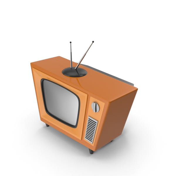 Cover Image for Cartoon Vintage Television