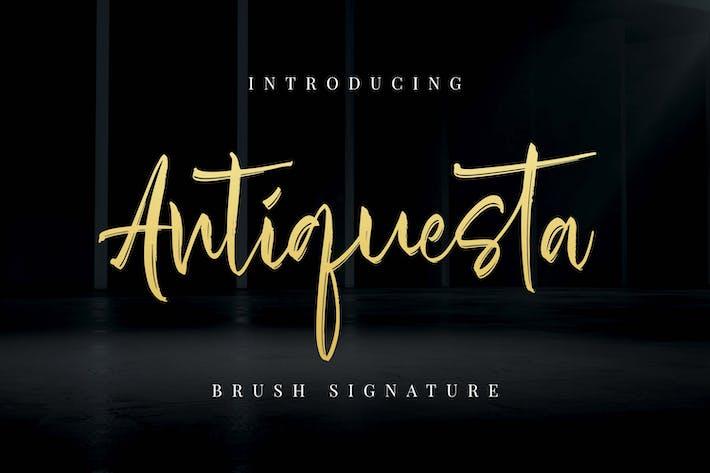 Thumbnail for Antiquesta - Brush Signature