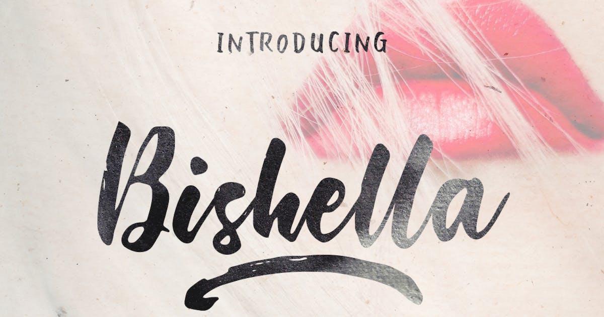 Download Bishella Font Duo by Byulyayika