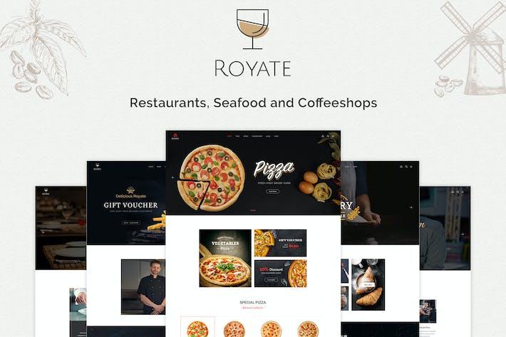 Royate | Restaurant Template