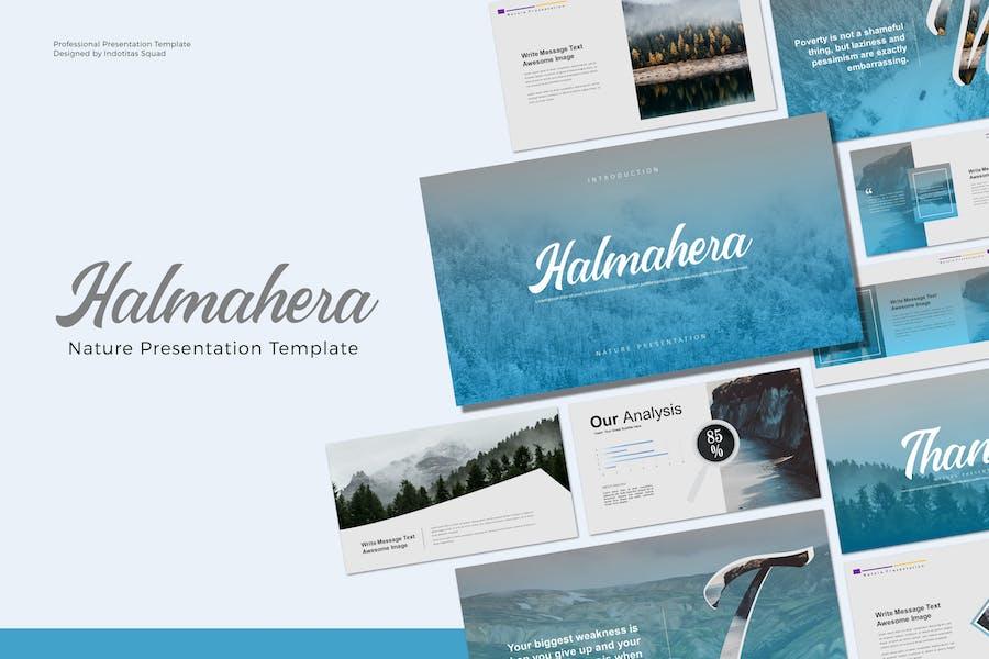 HALMAHERA - Powerpoint Template
