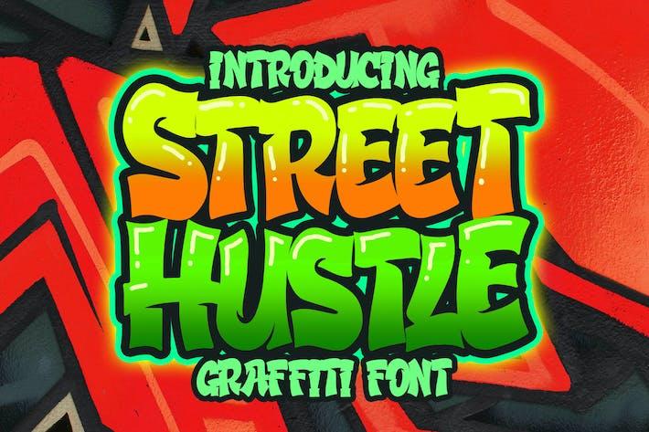 Thumbnail for Street Hustle - Graffiti Font
