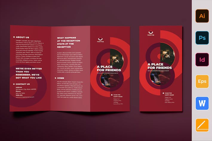 Cover Image For Pub Brochure Trifold