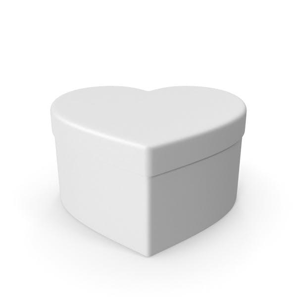 Валентина Форма Белая подарочная коробка