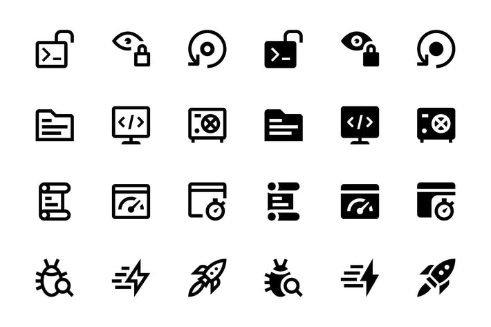 Cover Image For 26 Web & Mobile Development Icons