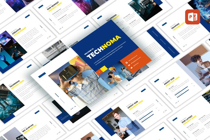 Thumbnail for Technoma - Creative PowerPoint Template