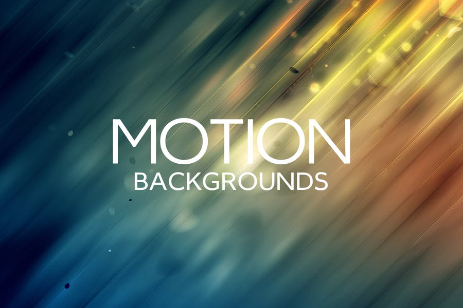 Motion of Lights Backgrounds