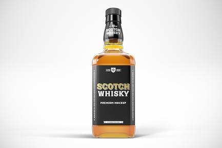 Whisky Bottle Mockup Template