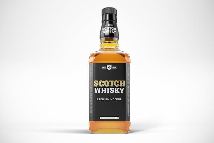 Thumbnail for Whisky Bottle Mockup Template