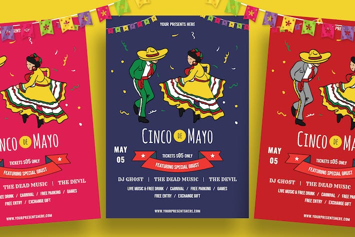Thumbnail for Cinco De Mayo Flyer-07