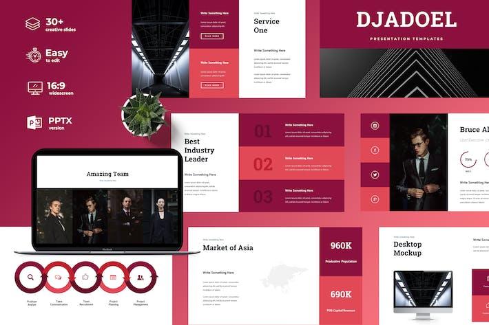 Thumbnail for Djadoel – Powerpoint Presentation