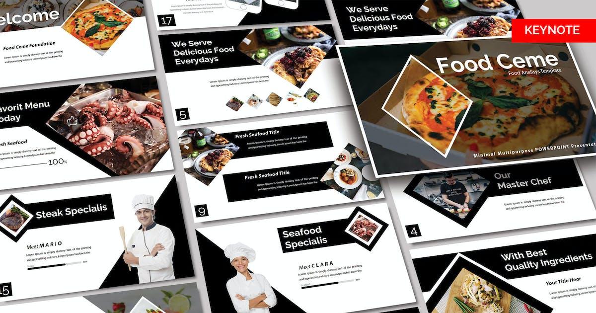 Download FOOD CEME  - KEYNOTE by joelmaker