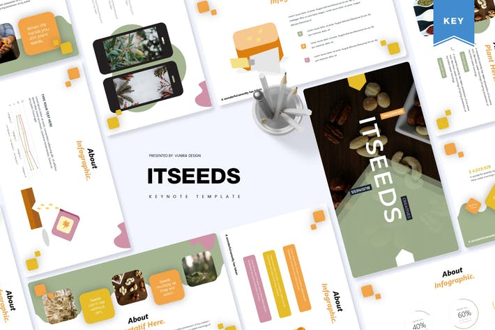 Thumbnail for Itseeds | Keynote Template