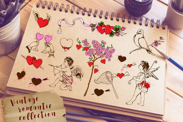 Cover Image For Design Elements for Valentine's Day