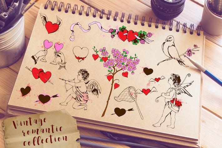 Design Elements for Valentine's Day