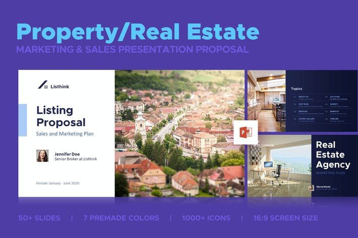 Thumbnail for Property Marketing Sales Presentation