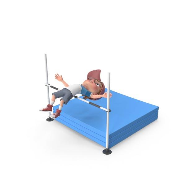 Thumbnail for Cartoon Boy Harry High Jump